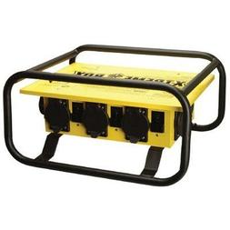 Coleman Cable 01972-3R-02 Temporary Power Distribution Box,