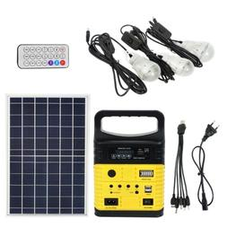 0Rechargeable Solar Generator System Power Inverter Kits for
