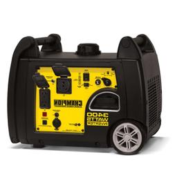 Champion Power Equipment 100233 3400W Inverter Generator w/