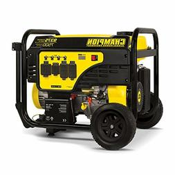 100538 7500 watt portable generator black yellow