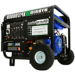 12000/9500-Watt 18 HP Dual Fuel Powered Portable Hybrid Elec