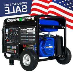DuroMax 12000 Watt 18hp Portable Hybrid