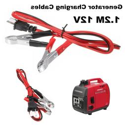 12V Charging 1.2M Wires DC Cables Cord For Honda Generator E