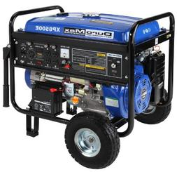 DuroMax 8500 Watt 16.0 Hp Gas Generator w Electric Start and