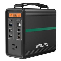 Beaudens 166Wh Portable Power Solar Generator Station AC/DC/
