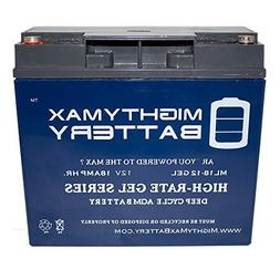 Mighty Max Battery 12V 18AH Gel Replacement Battery for Cham