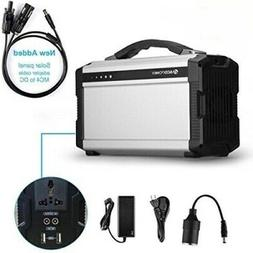 ACOPOWER 220Wh Portable Solar Generator for Camping 60,000mA