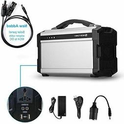 ACOPOWER 220Wh Portable Solar Generator for Camping, 60,000m