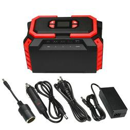 222Wh Portable Power Station Supply Charging Solar Generator