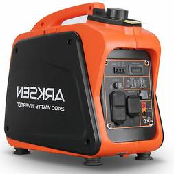 2400W Portable Gasoline Powered Quiet Inverter Generator CAR