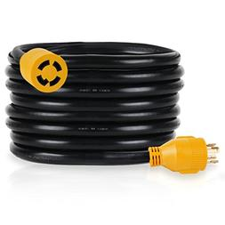 25 ft generator extension cord 30amp 4