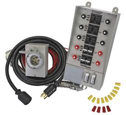 31410CRK RELIANCE INDOOR TRANSFER SWITCH KIT  FOR PORTABLE G