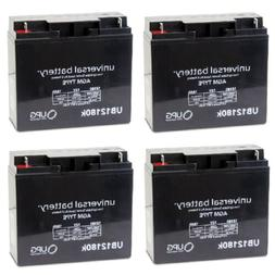 4 PACK 12V 18AH Briggs and Stratton Generator B4489GS 193043