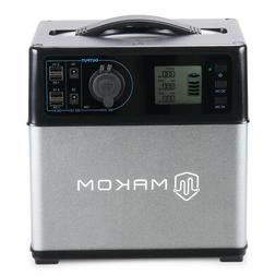 400Wh Portable Power Station Lithium Ion Battery Generator 1