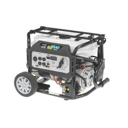 Quipall 5250-W 7 HP Portable Dual Fuel Gas Generator with El