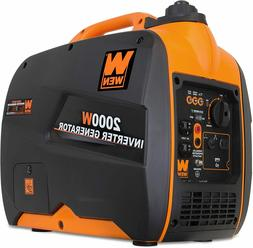 WEN 56200i 2000W Gas-Powered Portable Inverter Generator, CA