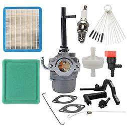 Wellsking 591378 Carburetor with 491588S Air Filter Tune-Up
