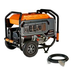 New Generac 6433 XT8000E 8,000 Watt Portable Gas Power Elect