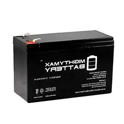Mighty Max Battery 12V 9Ah SLA Battery for Steele SP- GG1000