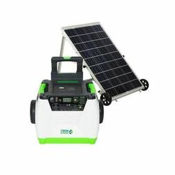 Nature's Generator - 1800W Solar & Wind Powered Generator -