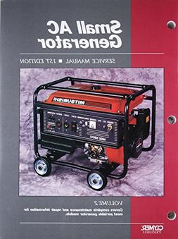 Small AC Generator Service Manual, Volume 2: Covers complete