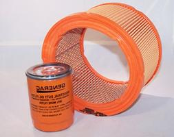 Generac Air Filter 0G5894 and Generac/Uninversal Generator P