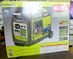 RYOBI Bluetooth 2,300 Starting Watt Gasoline Powered Digital