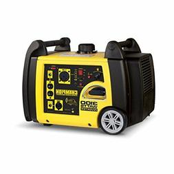 Champion 3100-Watt RV Ready Portable Inverter Generator with
