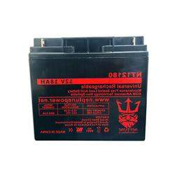 Neptune Power 12V 18A SLA Replacement Battery for Powerland