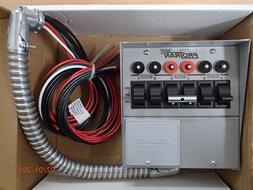 Reliance Controls Pro-Tran Manual Transfer Switches for Port