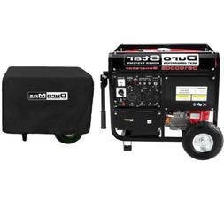 DuroStar DS10000E Gas Generator and DuroMax Weather Resistan