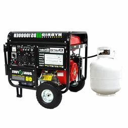 ds10000eh watt hybrid dual fuel portable gas