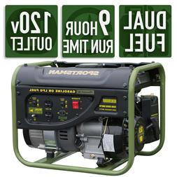 Sportsman GEN2000DF 2000 Watt Dual Fuel Generator - Runs Off