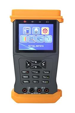 CCTV Tester for AHD/TVI/Analog Cameras,PTZ Camera Control &T