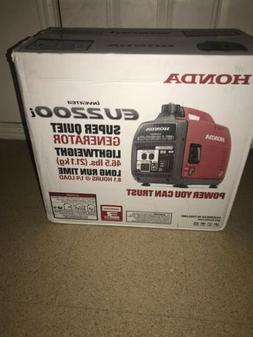 Honda EU2200i Super Quiet Inverter Generator BRAND NEW IN BO