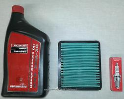 Honda EU3000 Oil Change Service Kit Filter Spark Plug Air Ge
