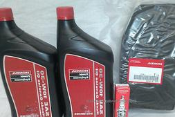 Honda EU6500 Oil Change Service Kit Filter Spark Plug Air Ge