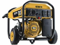 CAT GAS POWERED PORTABLE GENERATOR RP7500E 7500 WATTS 490-64