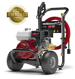 PowerBoss Gas Pressure Washer 3300 PSI 2.5 GPM Powered by HO