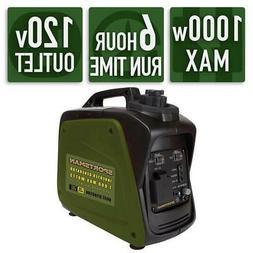 Gasoline Powered Digital Inverter Generator, 1,000-Watt, Com