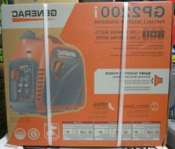 Generac 2200-Watt Gasoline Powered Portable Inverter Generat