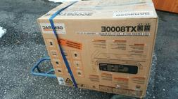 Generac XT8000E 8,000 Watt Portable Gas Power Electric Start