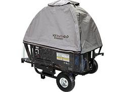 GenTent 10k Generator Tent Running Cover with Clear Vinyl Ap