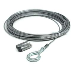 Globe Light Suspension Kit, Galvanized Steel Cable, 110 ft.,
