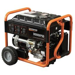 Generac GP8000E 8,000 Watt Electric Start Gas Powered Portab