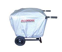 Heavy Duty EU3000is Generator Cover Silver Water Resistant C