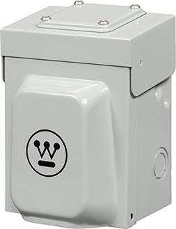 Westinghouse Heavy Duty 30 Amp  Power Inlet Box for Portable