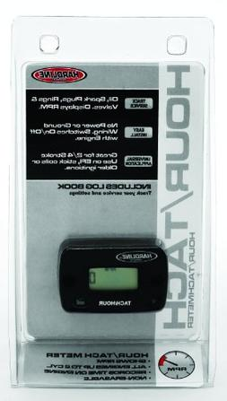 Hardline Products HR-8061-2 Hour Meter/Tachometer for up to