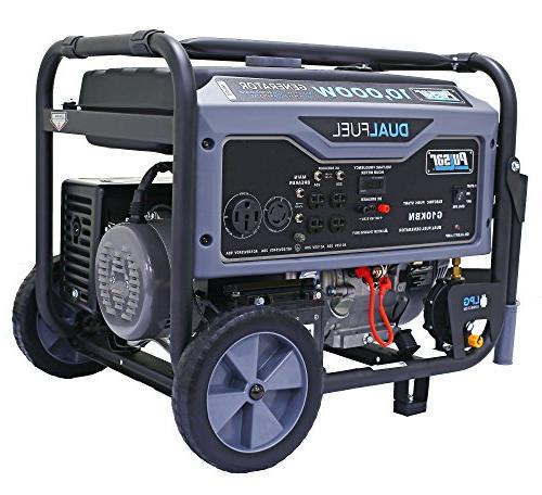 10,000 Watt Portable Generator with CARB Approved