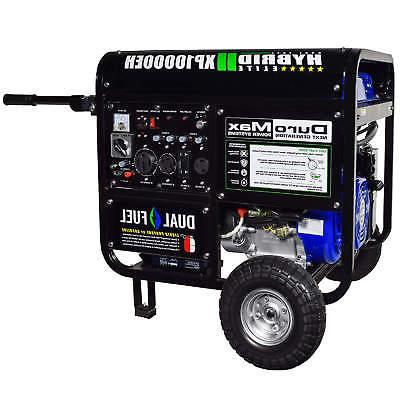 Duromax XP10000EH, Dual Fuel Electric Portable Generator